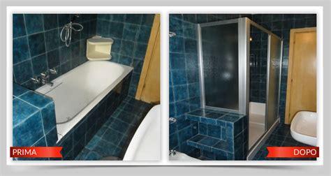 fare l nella vasca da bagno trasformazione vasca in doccia trasformare vasca in