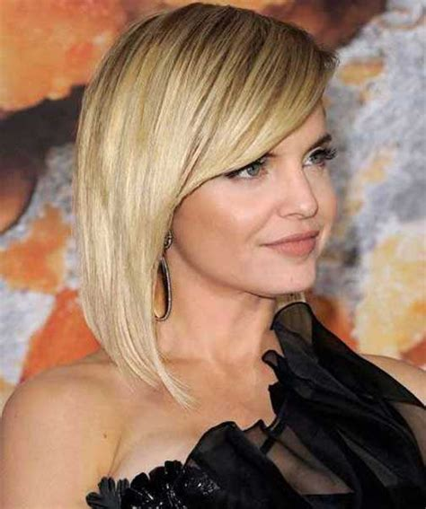 Bob Hairstyle With Side Fringe by Beautiful Bob Hairstyles With Bangs Hairstylesco