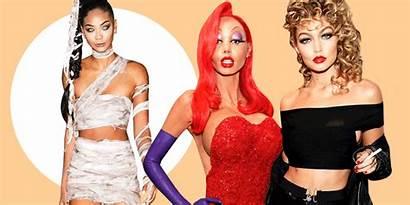 Halloween Celebrity Looks Makeup Cosmopolitan Celeb Crop