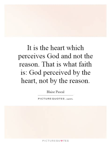 Heart touching love messages for her. It is the heart which perceives God and not the reason ...