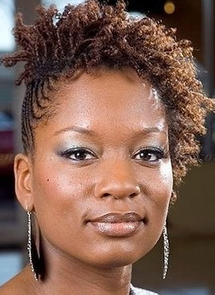 mini twists on short natural hair new natural hairstyles