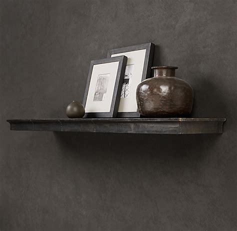 zinc wall shelf profile