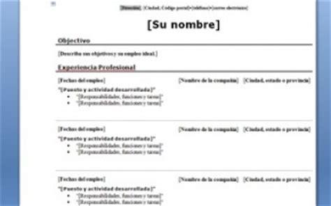 Ejemplo De Curriculum Vitae Basico Argentina Example Good Resume
