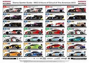 Updated Spotter Guides For Wec  U0026 Alms Now Online