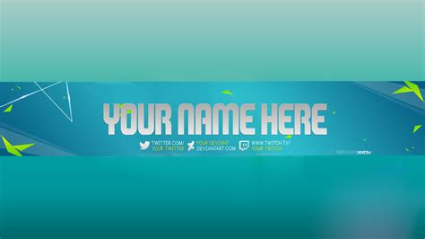 banner template de ts3 youtube banners fabulous free invoice template free