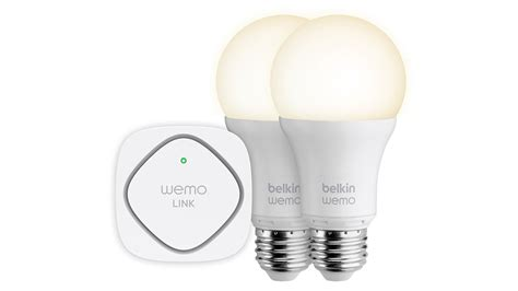 wemo light bulb belkin s wemo smart led bulbs put the light switch on your