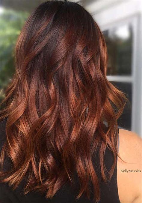 badass red hair colors auburn cherry copper