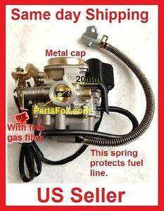 Carb Gy6 60cc Carburetor Moped Scooter Fit 50cc 49cc
