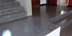 Vernis Sol Beton : le b ton cir du sol la d coration ~ Premium-room.com Idées de Décoration