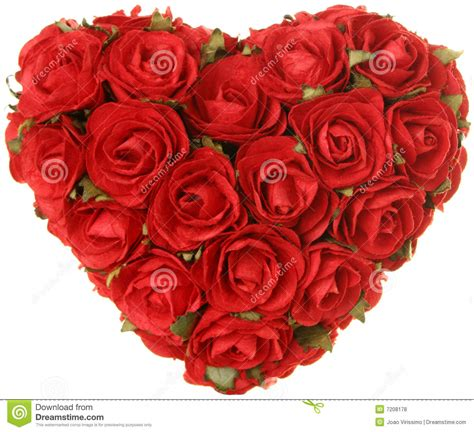 Heart Of Roses Valentine S Day Concept Stock Photo - Image ...
