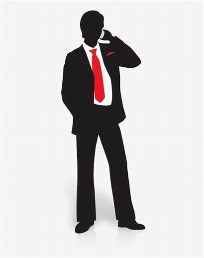 Businessman Silhouette Transparent Detective Investigator Private Businessperson