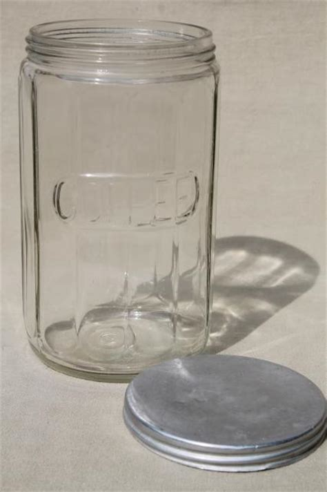 vintage glass canisters kitchen vintage hoosier jars depression glass kitchen canisters