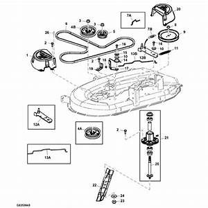 John Deere La115 Parts Diagram