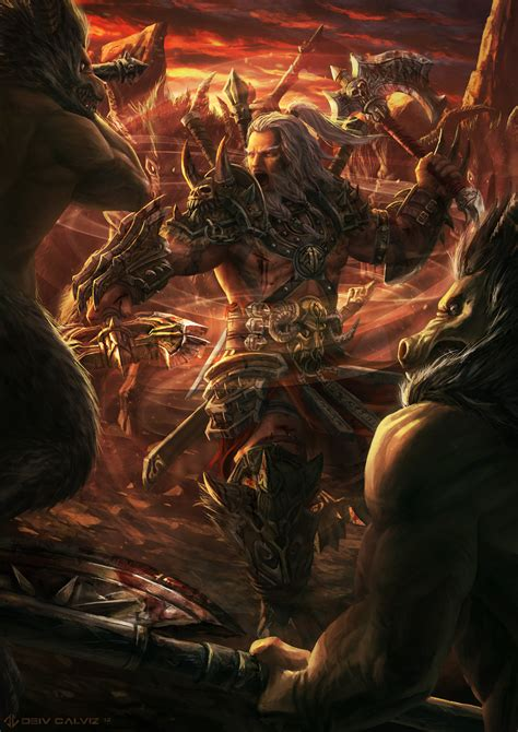 Epic Diablo 3 Fan Art Deiv Calviz Illustrations