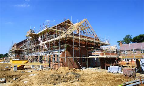 build a house housebuilding falls for in 18 months ons says