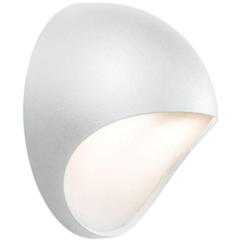 nordlux fuel led outdoor wall light white