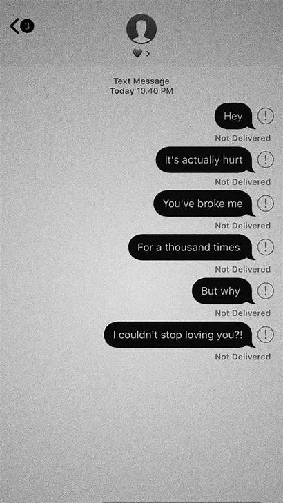 Sad Messages Quotes Iphone Aesthetic Words Wallpapers