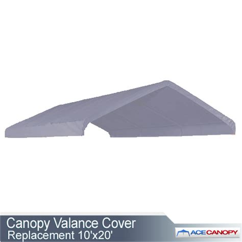 canopy valance cover replacement