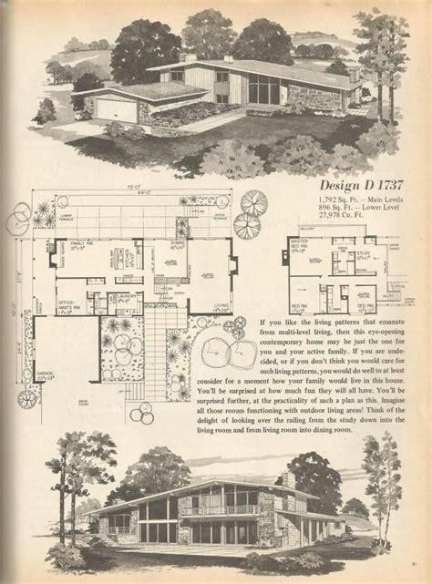 vintage house plans multi level homes part  vintage house plans vintage house modern