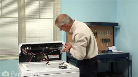 dryer repair replacing  push  start switch