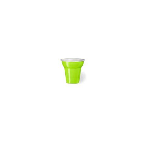 bicchieri plastica monouso bicchiere monouso in plastica verde mela cl 7