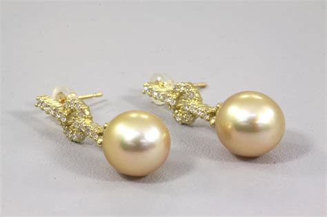 Golden South Sea Pearl And Diamond Earrings  First State. Leather Ankle Bracelets. Event Bracelet. Mechanical Wedding Rings. Elephant Silver. Kay Jewelers Necklace. Adhd Bracelet. Softball Necklace. Affordable Gold Engagement Rings