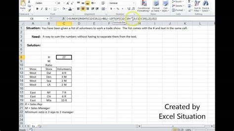excel sumif cell contains same text how to sum cells