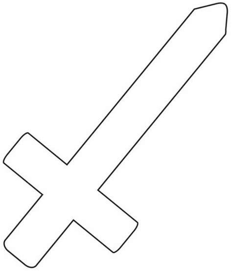 sword template preschool programs chapter tslac