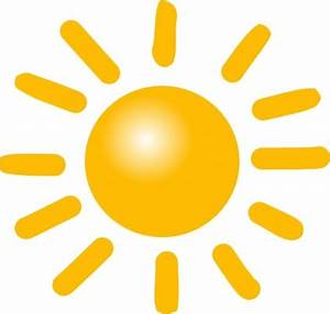 Wetter sonnig ClipArt cliparts, kostenlose clipart