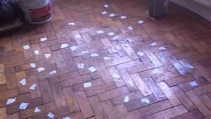 parquet flooring repair and restoration cheshire youtube With repair parquet floor