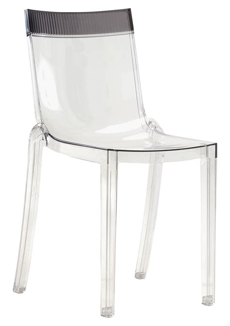 chaise cristal chaise empilable hi cut transparente polycarbonate
