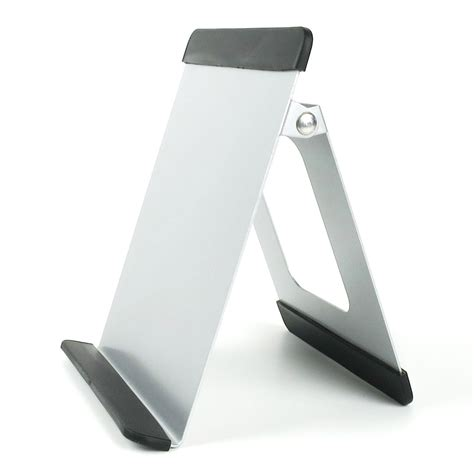 tablet stand for desk universal aluminium tablet stand ipad galaxy tab silver