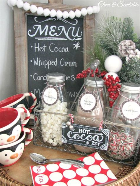 updated candy cane hot cocoa bar clean  scentsible