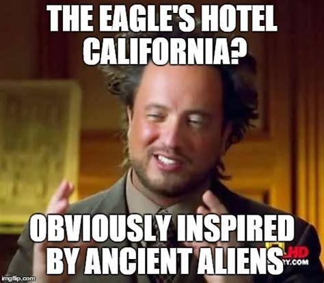 Meme Hotel - ancient aliens meme imgflip