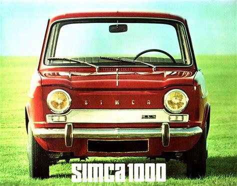 Simca 1000 GLS, 1964 [Auta5P ID:13507 EN]
