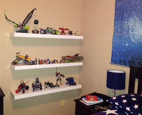 Ikea Lack Shelf For Lego Display/storage. Kids' Room Idea