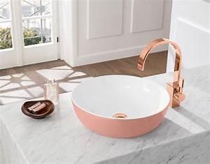 Waschbecken Villeroy Boch : aufsatz waschbecken oval aus keramik modern artis villeroy boch bathroom pinterest ~ Frokenaadalensverden.com Haus und Dekorationen