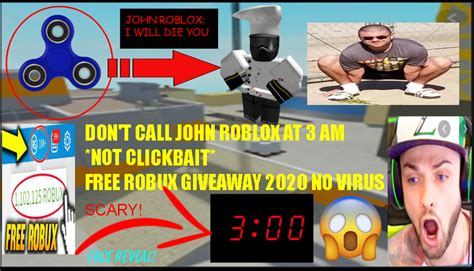 dont call john roblox    clickbait  robux