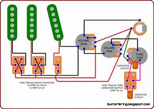 Dimarzio Guitar Pickups Wiring Diagram