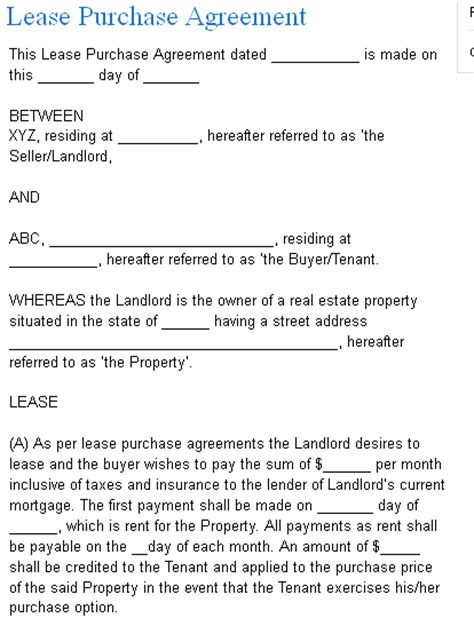 Landlord Tenant Lease Agreement From Lawscom