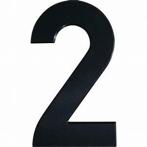 Large House Number 2 (29.5cm) – Stylishly Numbered  2