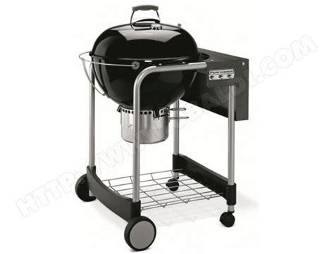 weber performer original gourmet 57 cm black 1401504 pas cher barbecue charbon livraison