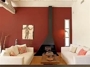 mur ocre pour salon chaleureux With quelle couleur pour mon salon 0 revger quelles couleurs pour un salon chaleureux