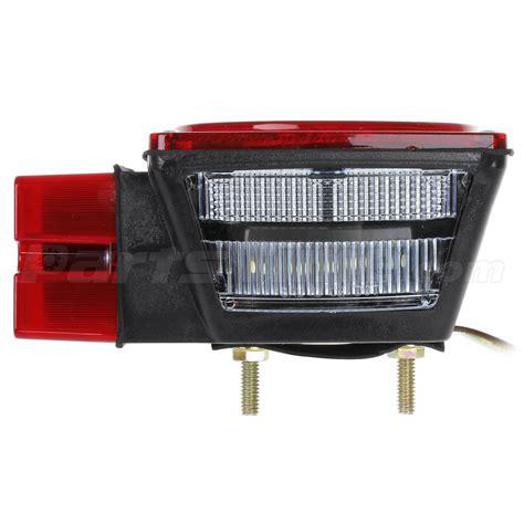 submersible led boat trailer lights pair led submersible brake stop license lights kit