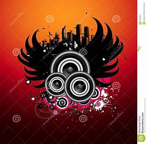 Music design stock illustration. Image of abstract ...