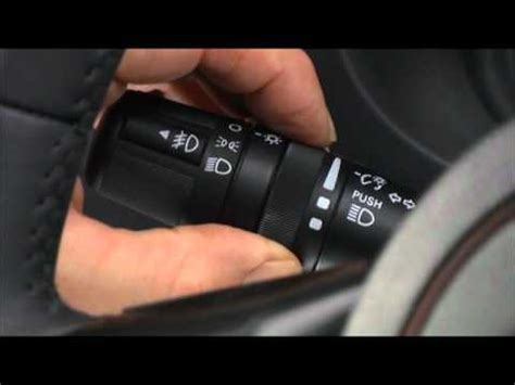jeep wrangler turn signal lights lever youtube