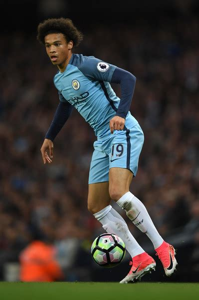 Leroy Sane - Leroy Sane Photos - Manchester City v ...