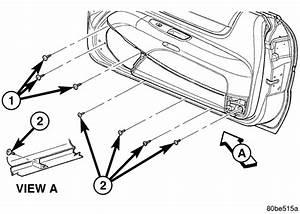 Chrysler Sebring Lx How Do I Remove The Power Window Motor