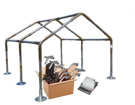 canopy frame kit    heavy duty   carport garage boat  pipepole ebay