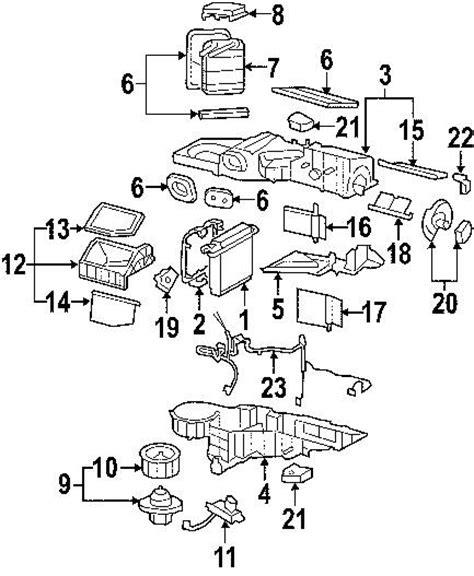 2005 Chevy Silverado Heater Wiring Diagram by 2009 Chevrolet Silverado 2500 Heating And Heating Parts
